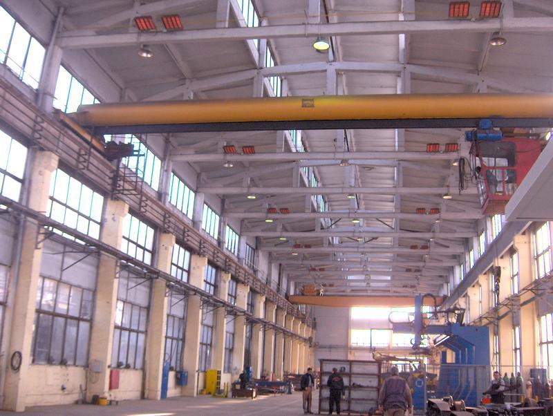 отопление производственных помещений и предприятий
